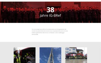 Neue IG-BRef-Webseite veröffentlicht