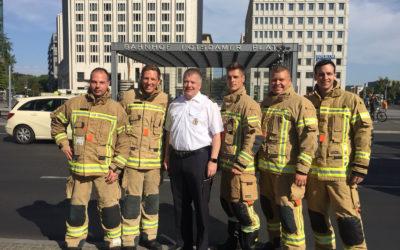 Fit bei der Feuerwehr – Auch als Brandreferendar