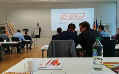 IG-BRef Herbsttagung 2018 in Münster