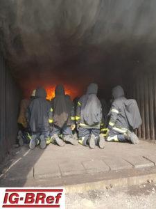 Realbrandausbildung in Wesel