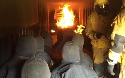 Feuer und Flamme für die Grundausbildung