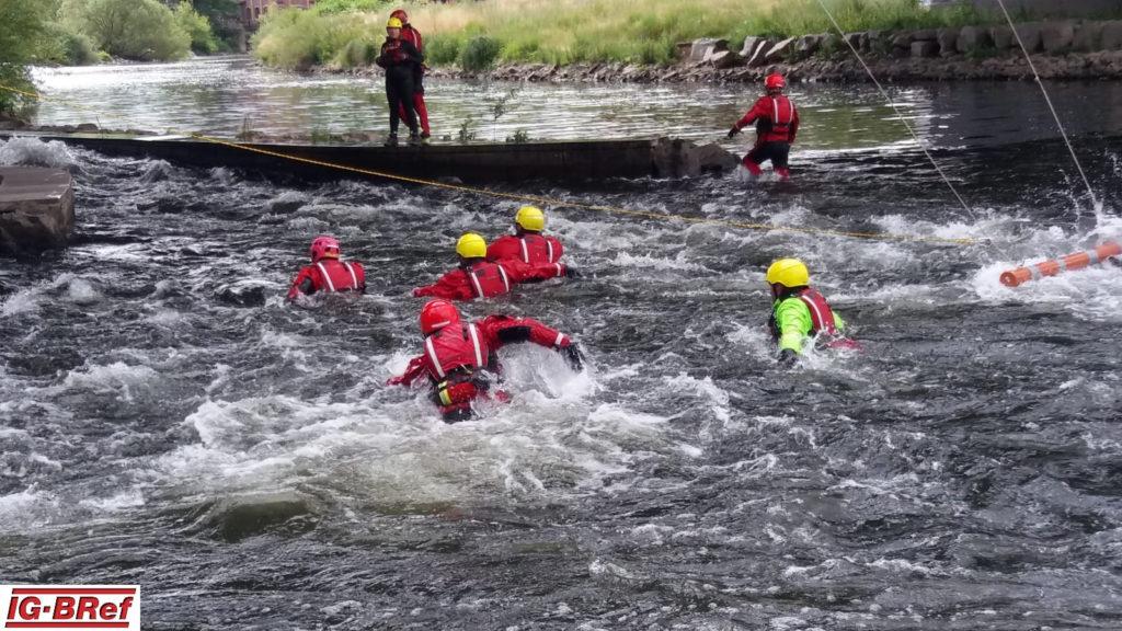 Ausbildung zum Strömungsretter in der Ruhr