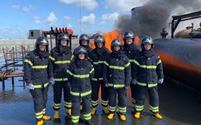 Realbrandausbildung für Aufstiegsbeamte und Brandreferendare in den Niederlanden