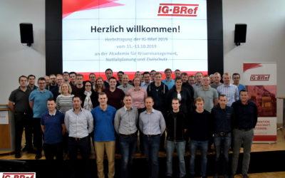 IG-BRef-Herbsttagung 2019 an der AKNZ Ahrweiler