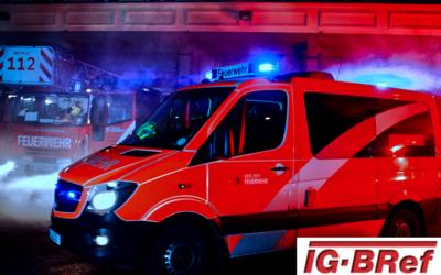 Praktischer Zugführerabschnitt bei der Berliner Feuerwehr