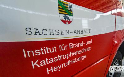 In einer besonderen Zeit, ein besonderer Lehrgang am Institut für Brand- und Katastrophenschutz in Heyrothsberge.