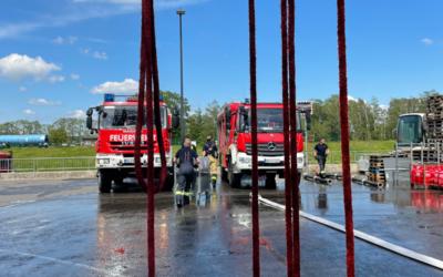 Grundausbildungslehrgang bei der Feuerwehr Duisburg