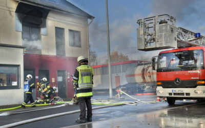 Praktische Ausbildung der Brandreferendare in Dortmund